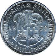 2 Shillings - George VI (2 Shillings, SEXTVS REX) – reverse