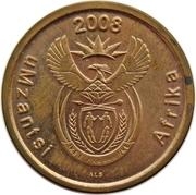 5 Cents (Xhosa Legend - uMzantsi Afrika) -  obverse