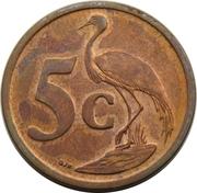 5 Cents (Xhosa Legend - uMzantsi Afrika) -  reverse