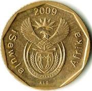 10 Cents (Ndebele legend - iSewula Afrika) -  obverse