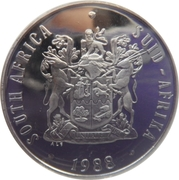 50 Cents (SOUTH AFRICA - SUID-AFRIKA) -  obverse