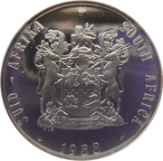 1 Rand (SUID AFRIKA - SOUTH AFRICA) -  obverse