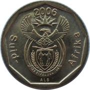 10 Cents (Afrikaans Legend - Suid-Afrika) -  obverse