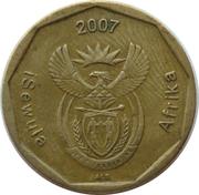 50 Cents (Ndebele Legend - iSewula Afrika) -  obverse