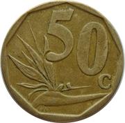 50 Cents (Ndebele Legend - iSewula Afrika) -  reverse