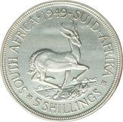 5 Shillings - George VI (5 Shillings, SEXTVS REX) – reverse