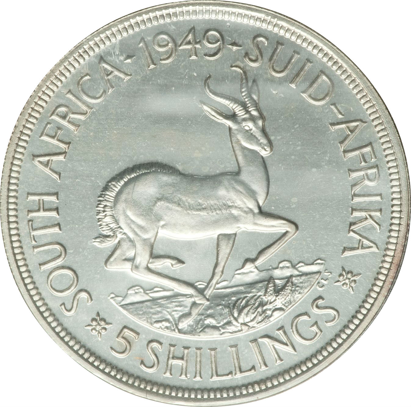 5 Shillings - George VI (5 Shillings, SEXTVS REX) - South Africa