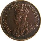 ¼ Penny - George V   (¼ Penny ¼) – obverse