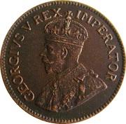 ¼ Penny - George V  (¼ Penny) – obverse