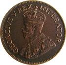 ¼ Penny - George V   (¼ D) – obverse