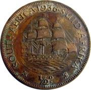 ½ Penny - George V (½D) – reverse