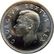 6 Pence - George VI (SUID AFRIKA - SOUTH AFRICA) – obverse