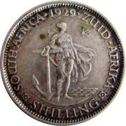 1 Shilling - George V (Zuid Afrika) – reverse