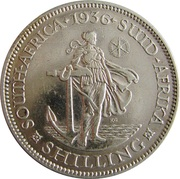 1 Shilling - George V (Suid Afrika) – reverse
