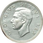 5 Shillings - George VI (5 Shillings, SEXTVS REX) – obverse