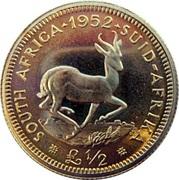 ½ Pound - George VI – reverse