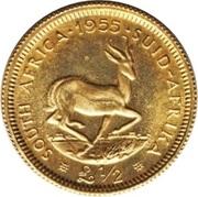 ½ Pound - Elizabeth II (1st portrait) – reverse