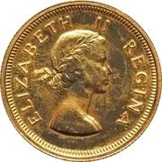 1 Pound - Elizabeth II (1st portrait) – obverse