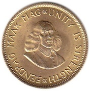 2 Rand Gold (1st & 2nd decimal series) -  obverse