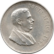 1 Rand (Dr. H.F Verwoerd; English Legend - SOUTH AFRICA) – obverse