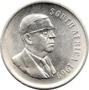1 Rand (Dr. T.E. Dönges; English Legend - SOUTH AFRICA) – obverse