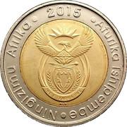 5 Rand (Ningizimu Afrika - Afurika Tshipembe ) – obverse