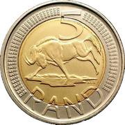 5 Rand (Ningizimu Afrika - Afurika Tshipembe ) – reverse
