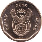 20 Cents (Tswana Legend - Aforika Borwa) -  obverse