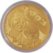 25 Rand (FW de Klerk and NR Mandela) – reverse