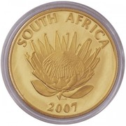 25 Rand  / 1 Ounce (FW de Klerk and NR Mandela) – obverse