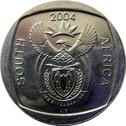 2 Rand (10 Years Freedom) – obverse