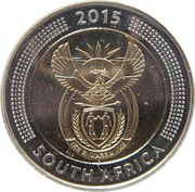 5 Rand (Griqua Town Coinage Bicentennial) – obverse