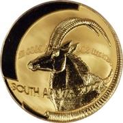 1 Ounce (Natura - Sable, Queen of the Antelopes) – obverse