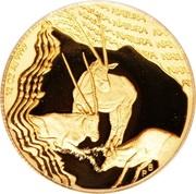 ½ Ounce (Natura - Gemsbok, Prince of the Kalahari) – reverse