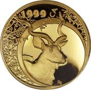 1 Ounce - Natura Kudu, King of the Antelopes – obverse