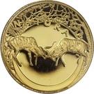¼ Ounce (Natura - Kudu, King of the Antelopes) – reverse