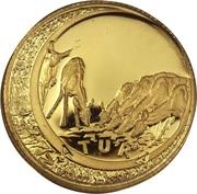 1/10 Ounce (Natura - Kudu, King of the Antelopes) – reverse