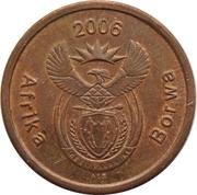 5 Cents (Sepedi/Sesotho Legend - Afrika Borwa) -  obverse