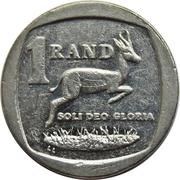 1 Rand (Ningizimu Afrika - Afurika Tshipembe) -  obverse