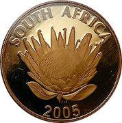 25 Rand / 1 Ounce (Albert John Luthuli) – obverse
