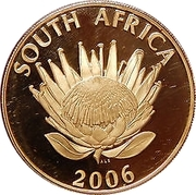 25 Rand / 1 Ounce (Archbishop Desmond Mpilo Tutu) – obverse