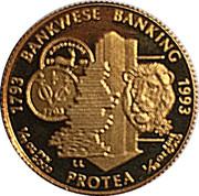 1/10 Ounce (Banking Bicentennial) – reverse