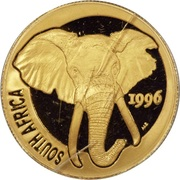 ¼ Ounce - Natura The Elephant – obverse