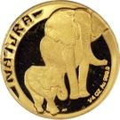 ¼ Ounce (Natura - Elephant) – reverse