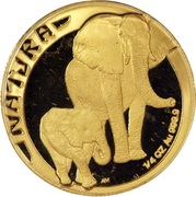¼ Ounce - Natura The Elephant – reverse