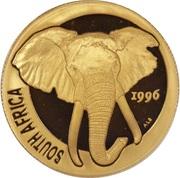 ½ Ounce (Natura - Elephant) – obverse
