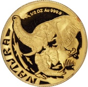 ½ Ounce (Natura - Elephant) – reverse