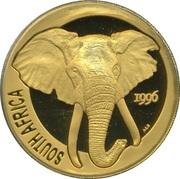 1 Ounce (Natura - Elephant) – obverse