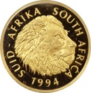 ¼ Ounce (Natura - Lion) – obverse