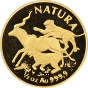 ½ Ounce (Natura - Lion) – reverse